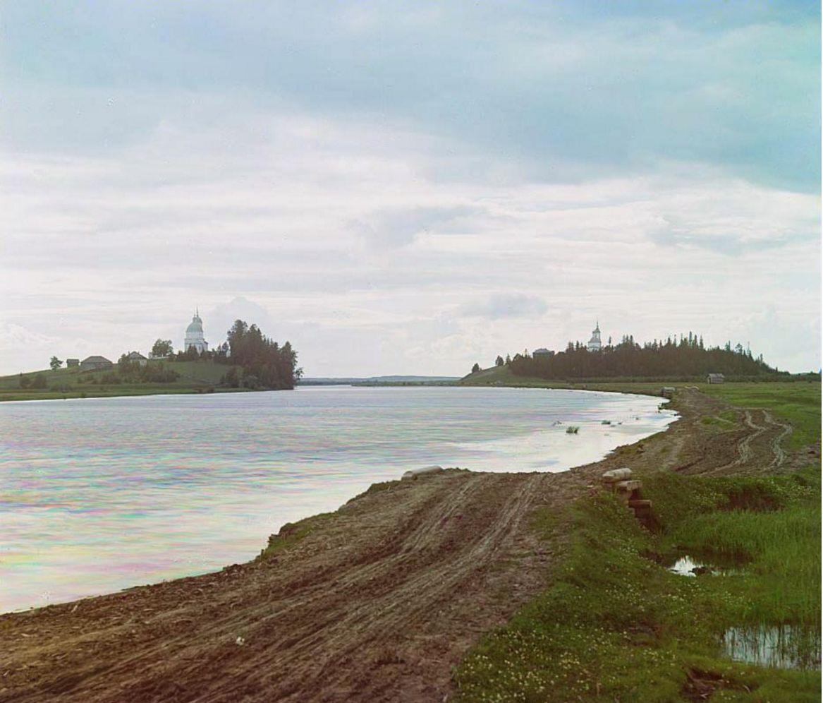 Городецкий и Никитский погосты. Река Шексна