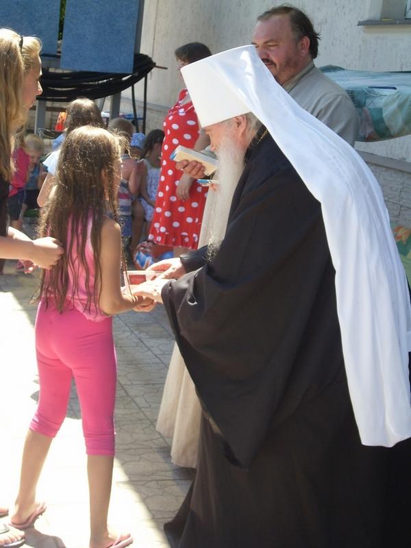 Детский православный лагерь Алчевского благочиния в с.Алексеевка