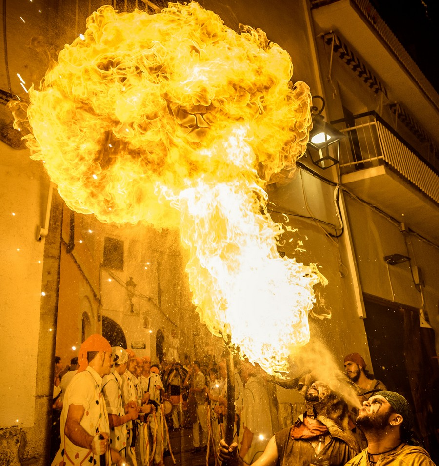 Night Of Fire - Santa Tecla Sitges 2016