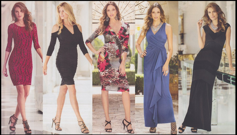 Симпатичные девушки в красивых платьях