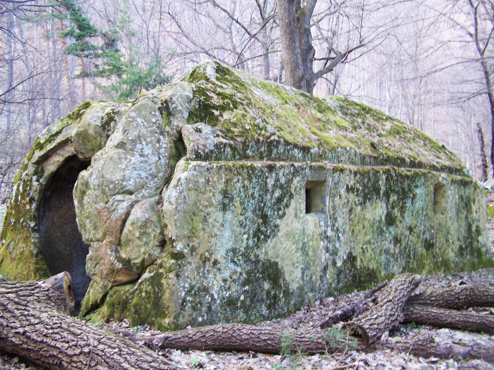 The ancient megaliths, Romania, Europe, mountains, Carpathians, people Carp, Sarmatians, ancient, man, stone, stone house, building ancient, strange stone, letters on stone, Russian Cyrillic letter, the Middle Ages, church, religious building, Christianity, forest , secret