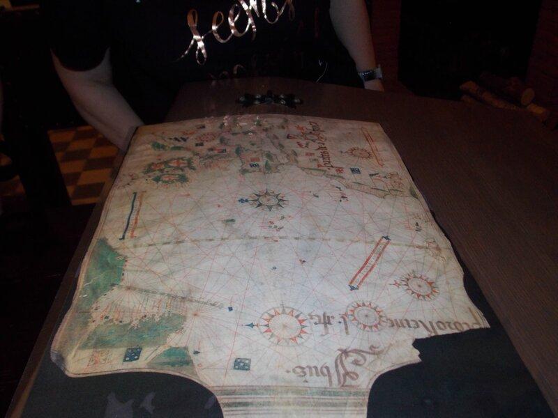 Карта для каботажного плавания