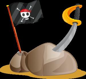 пираты, сабли