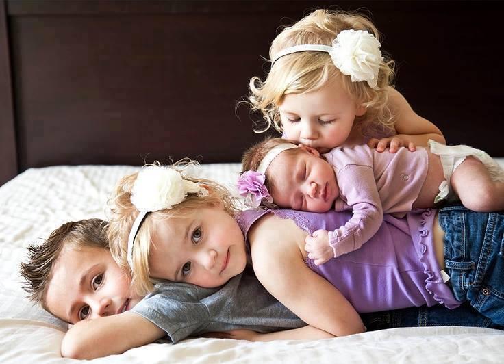 Иметь братьев и сестер - это настоящее счастье