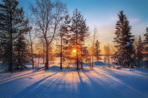 Настоящая русская зима в Мурманской области, ноябрь 2016 г