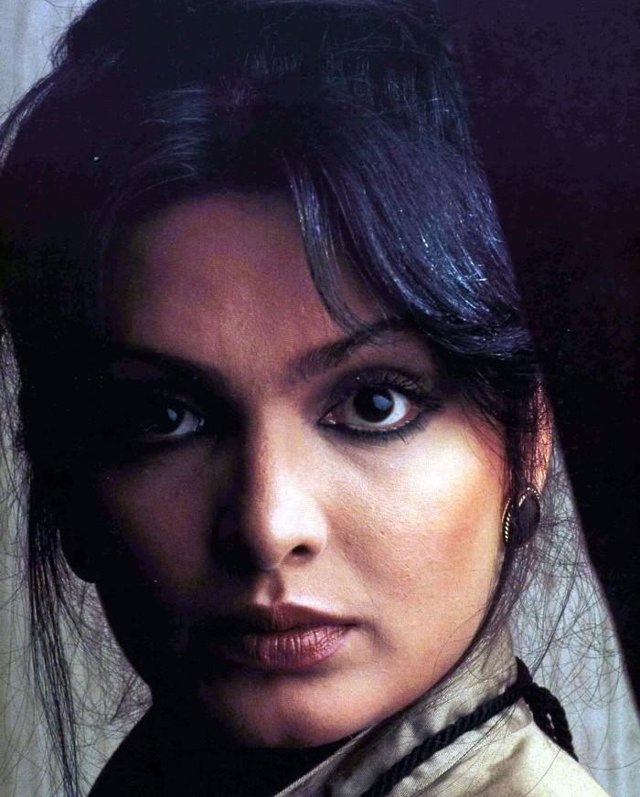 Парвин Баби — индийская актриса Знаменитая индийская актриса, которая уже в тридцатилетнем возрасте