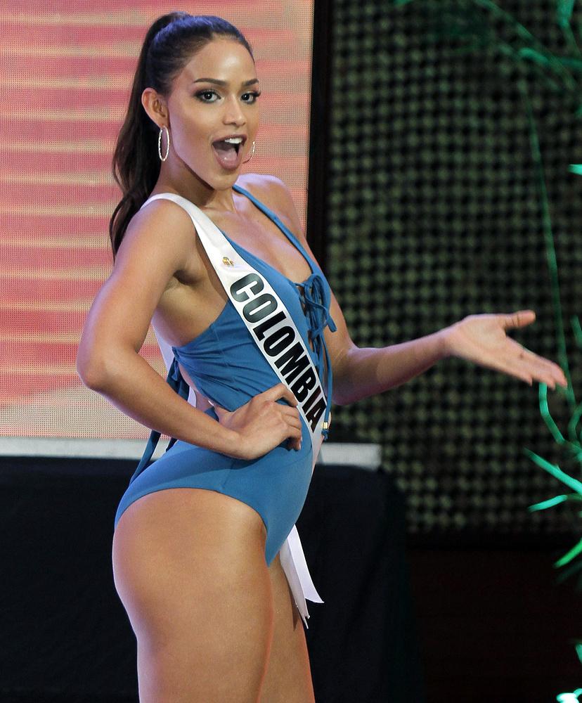 Андреа Товар из Колумбии.