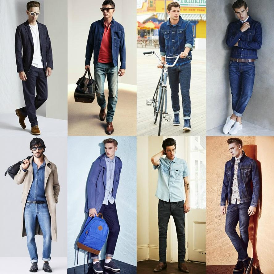 Модные мужские джинсы весна-лето 2017 (1 фото)