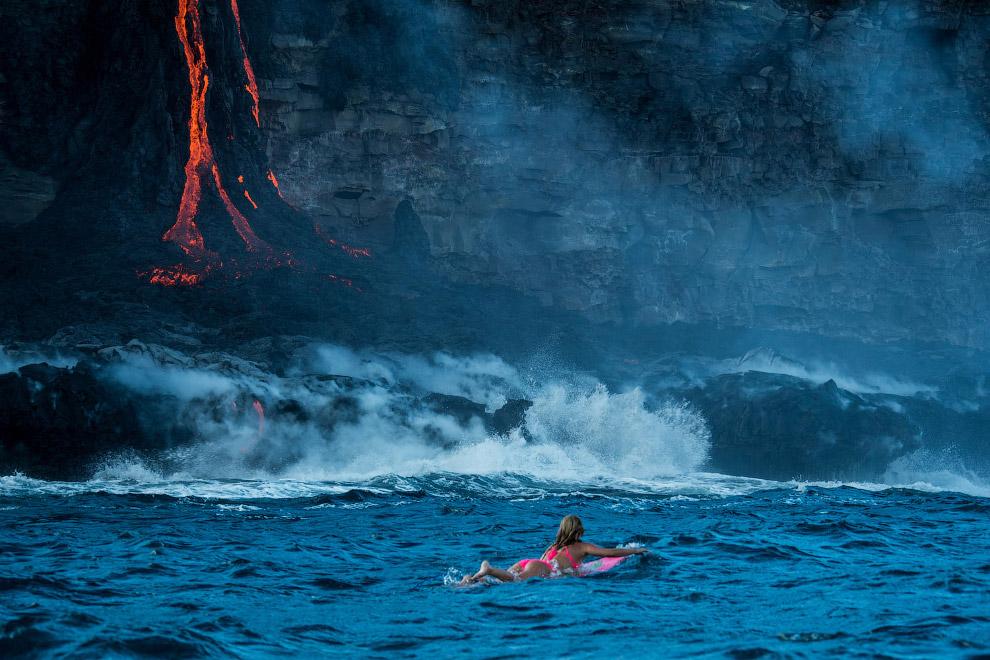 7. Последнее извержение началось 3 января 1983 года и продолжается по настоящее время. В фазу интенс