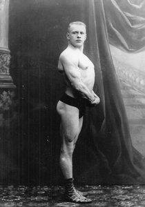 Портрет Г.Луриха, участника чемпионата