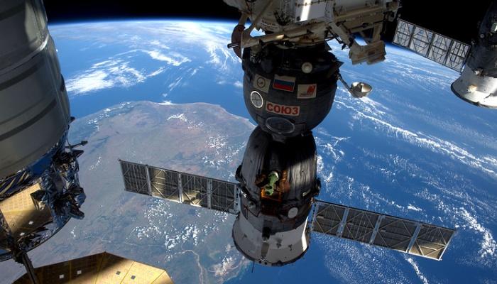 СБайконура стартовала ракета скораблем «Союз МС-02»