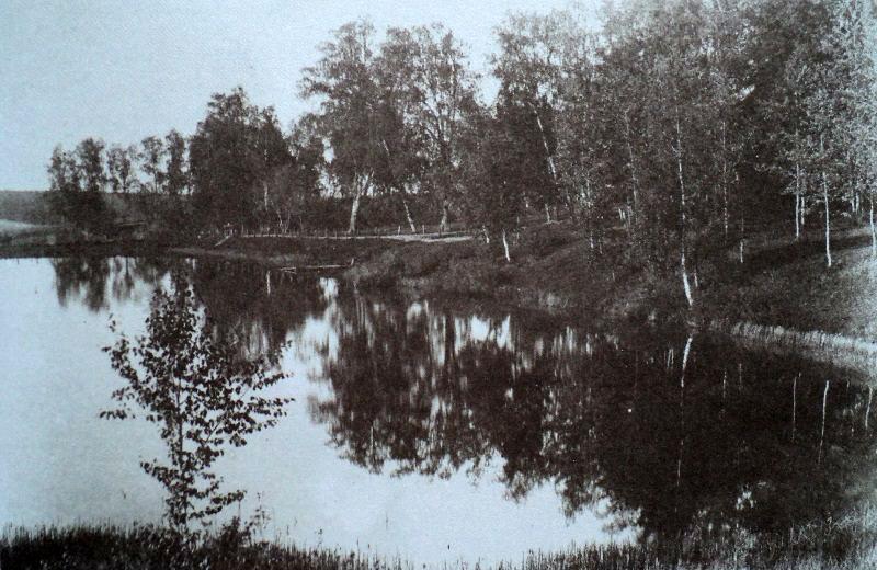 Большой пруд в Узком. 1890—1891.jpg