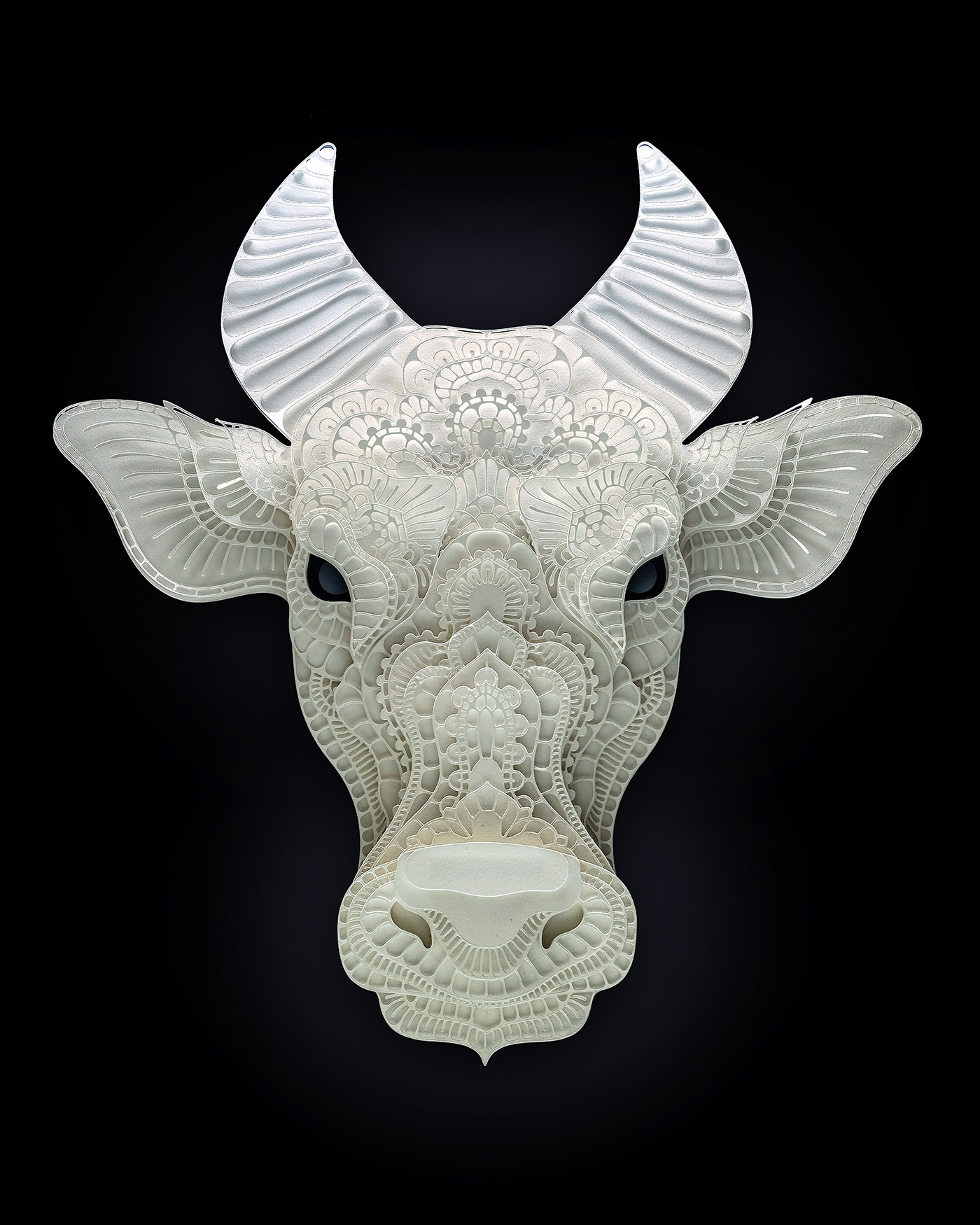Impressive Papercuts of Endangered Species