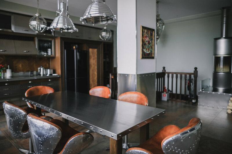 мужской интерьер - кухня