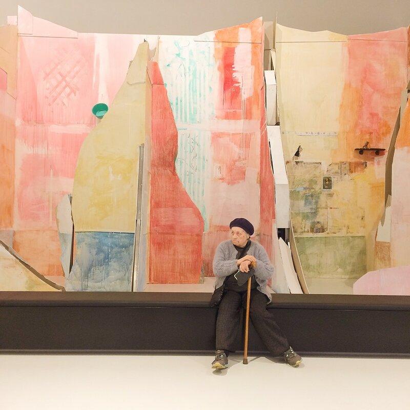 Валерий Кошляков в Музее русского импрессионизма