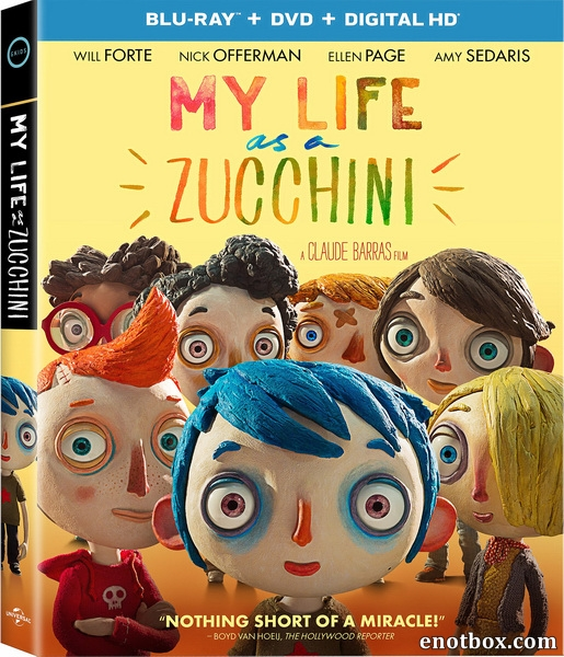 Жизнь кабачка / Ma vie de Courgette (2016/BDRip/HDRip)
