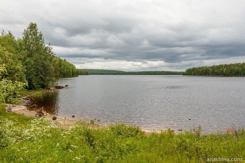 Река Суна (Гирвасское водохранилище), Карелия