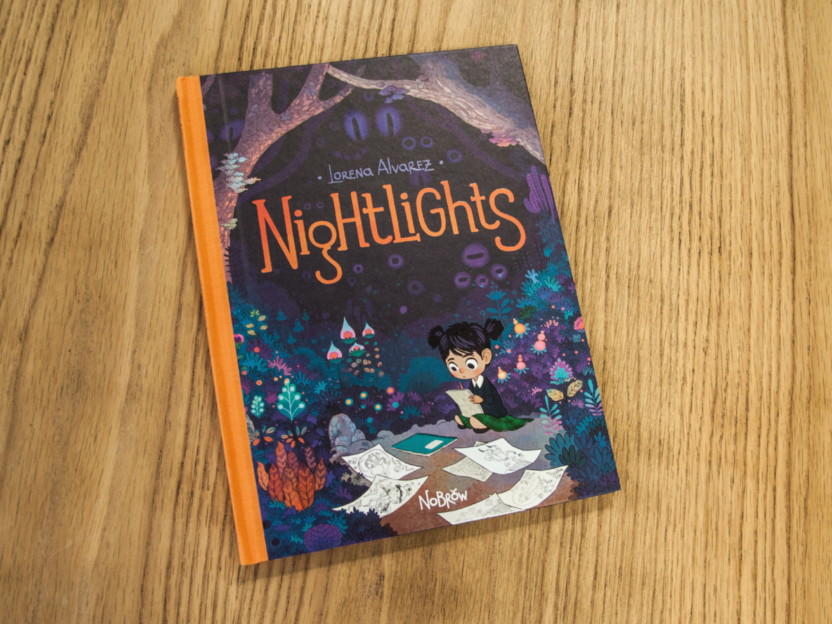 Nightlights: A Beautiful Graphic Novel by Lorena Alvarez