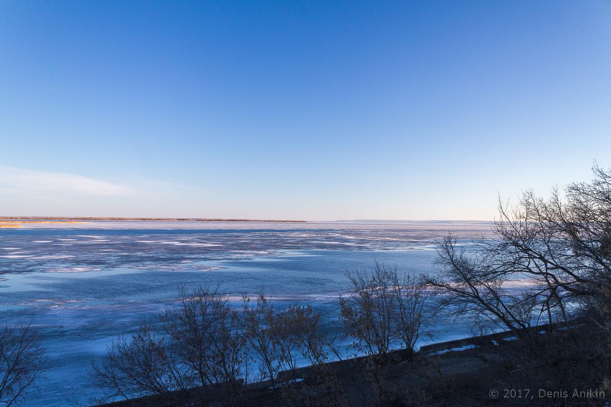 Волга весна лёд фото 1