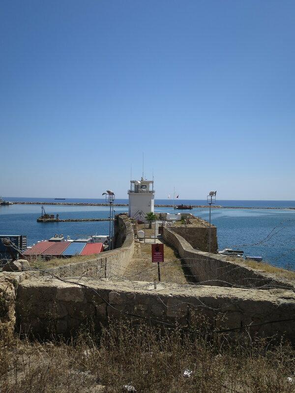Фамагуста. Крепость. Укрепленный коридор к гавани