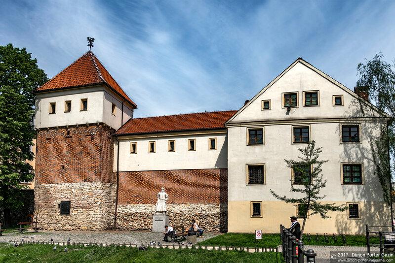 Гливице. Замок Пястов