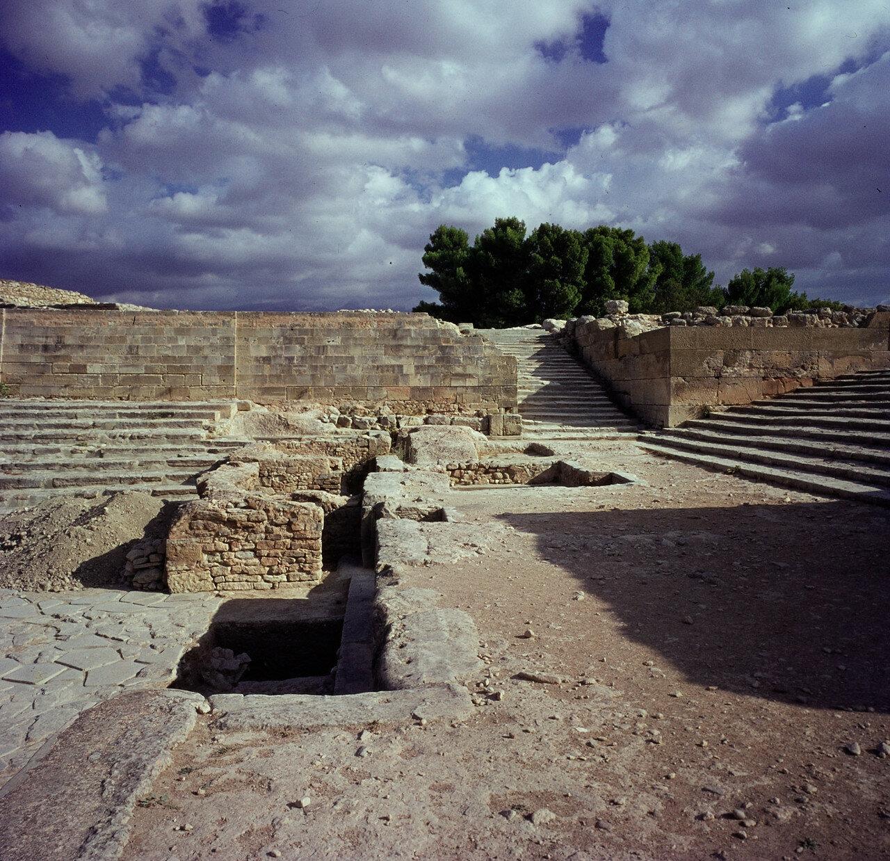 Крит. Фест. Дворец минойской эпохи