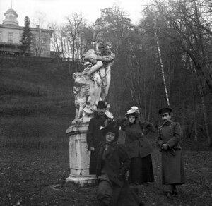 1904. Прогулка в Кунцево. «Плутон, похищающий Прозерпину»