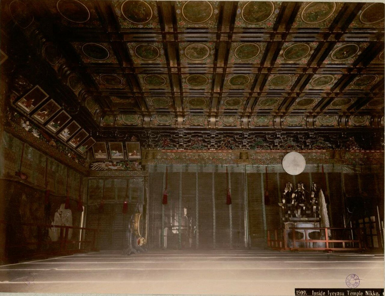 Никко. Храм Иэясу. Внутри храма