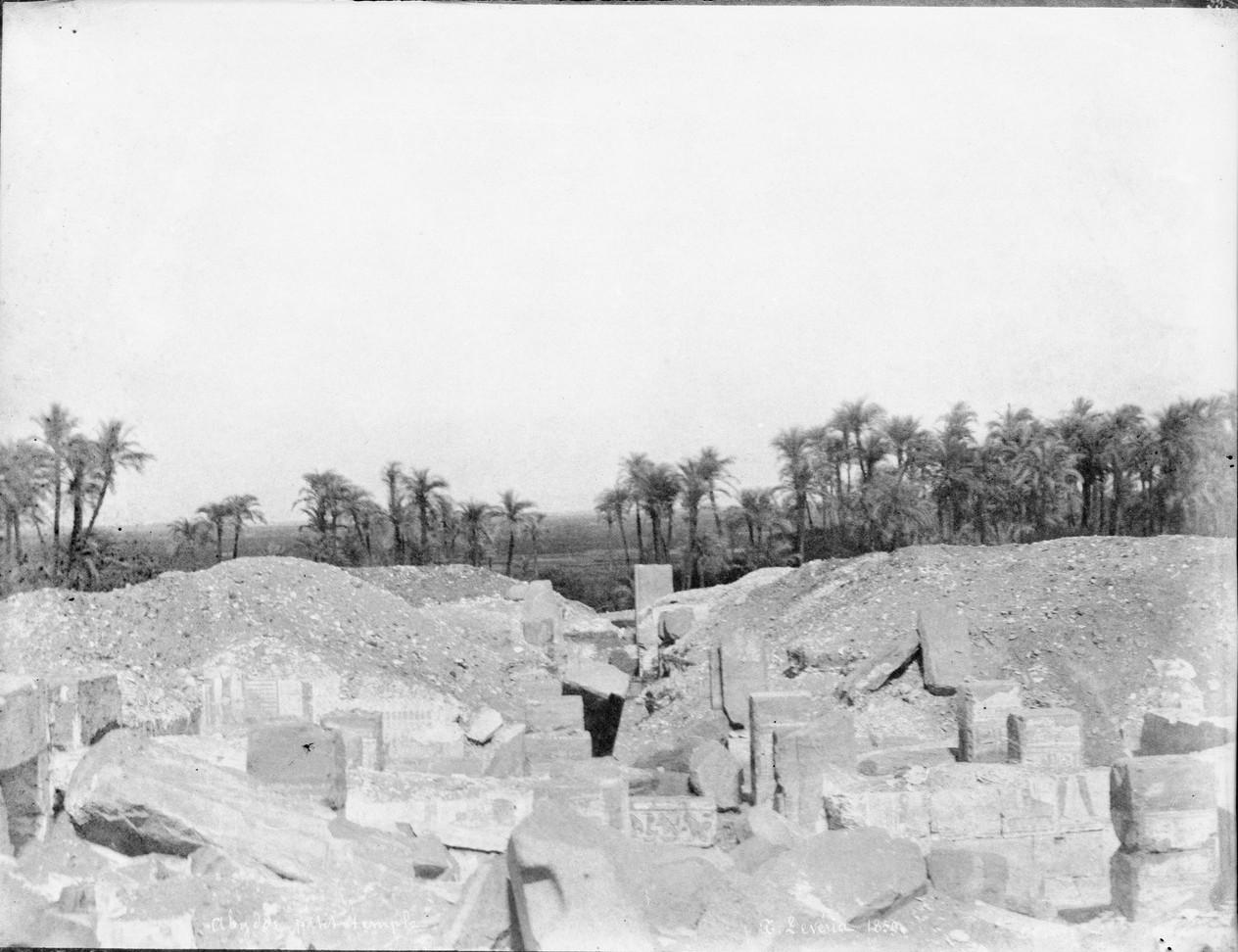 Абидос. Небольшой храм. Обзор раскопок