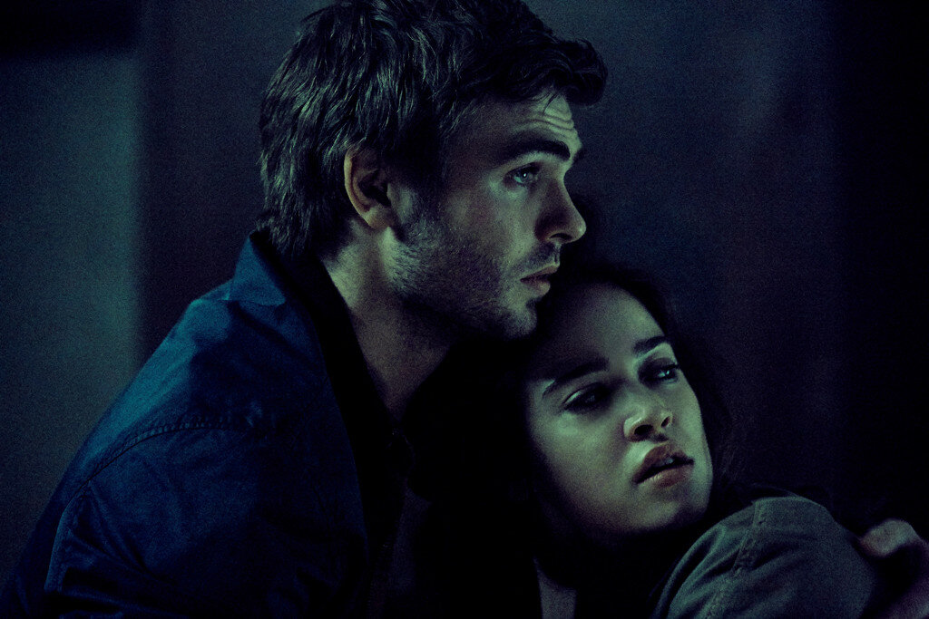 (L-R) Alex Roe as Holt and Matilda Lutz as Julia in RINGS by Paramount Pictures