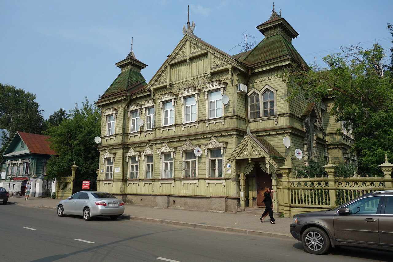 дом купца Сапожникова (восст.)