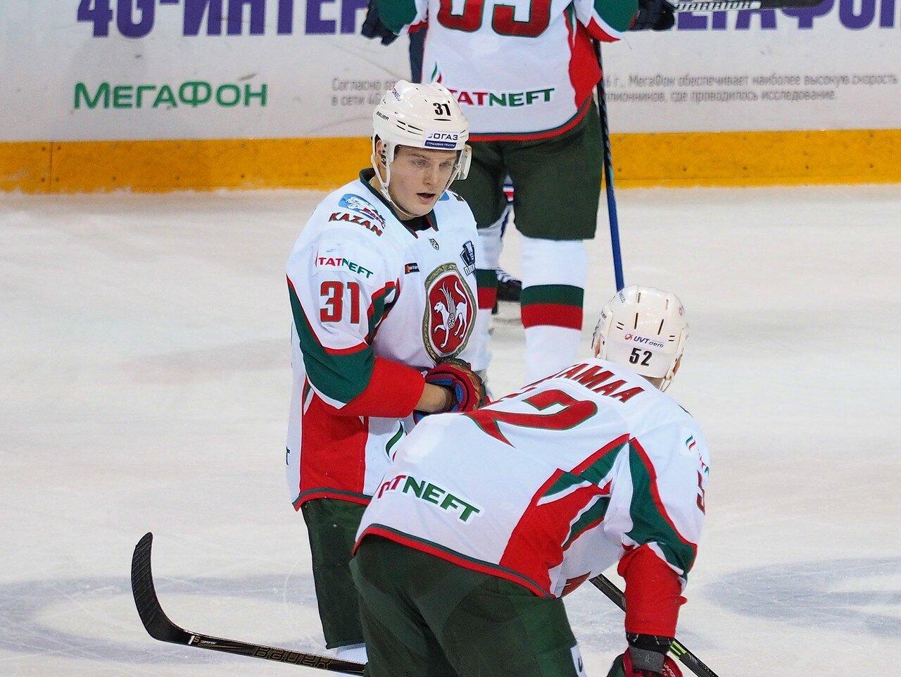 52 Первая игра финала плей-офф восточной конференции 2017 Металлург - АкБарс 24.03.2017