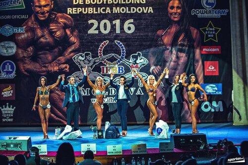 В Кишиневе прошел чемпионат Молдовы по бодибилдингу