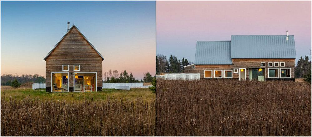 Загородный дом возле озера Мичиган