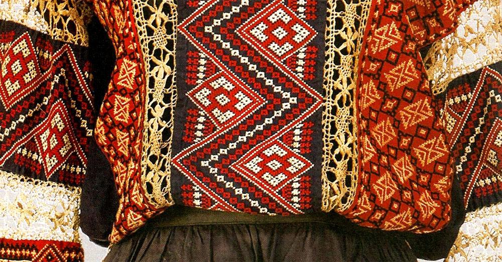 Вышивка в ковровом стиле