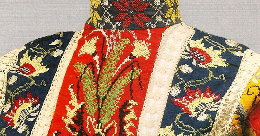 e9a0ba038fc Техника и мотивы вышивки в костюме в русском стиле