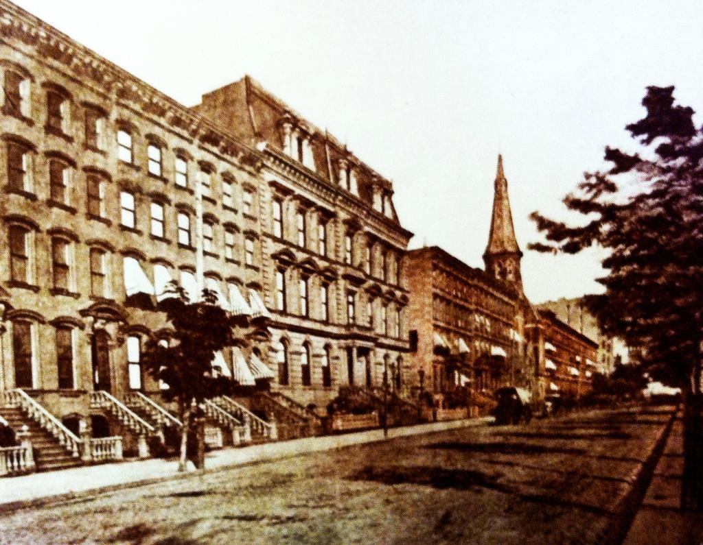 Нью-Йорк в 1860-80-х годах