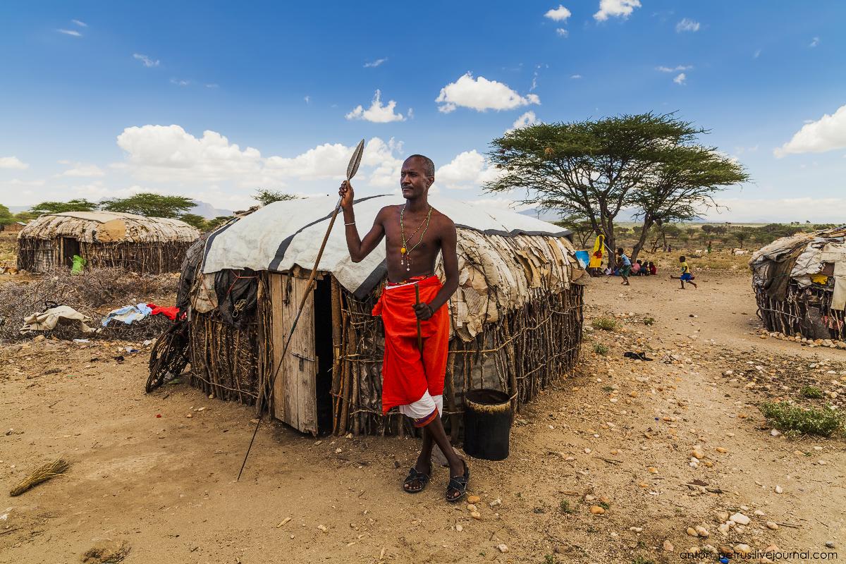 Племя Самбуру, Кения