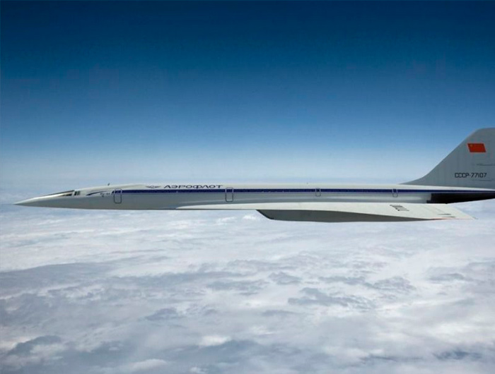 современный самолет