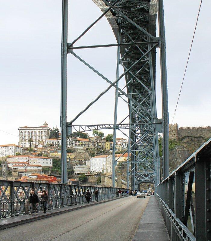Порту. Мост Луиша I (Ponte de Dom Luís I)
