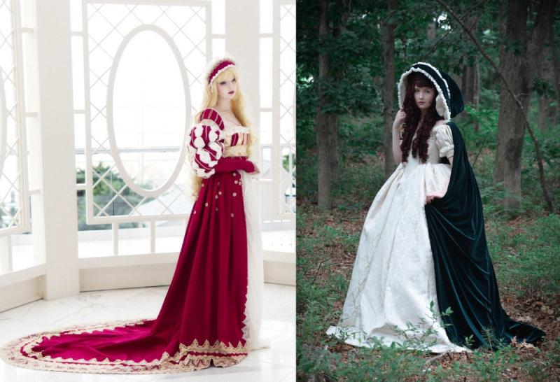 Сейчас девушка одержима модой средневековья. «Ялюблю английскую моду 1620-30-х годов ибальные плат