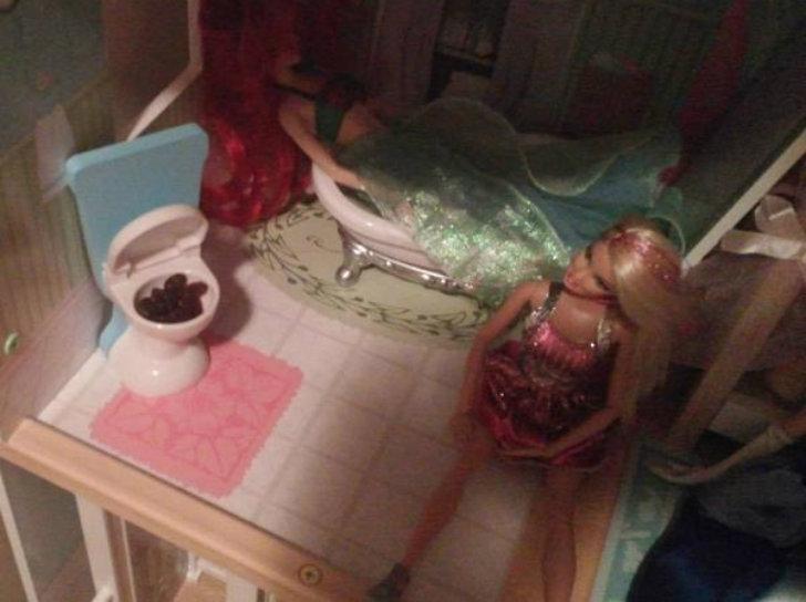 «Моя трехлетняя дочь попросила дать ей немного изюма…»