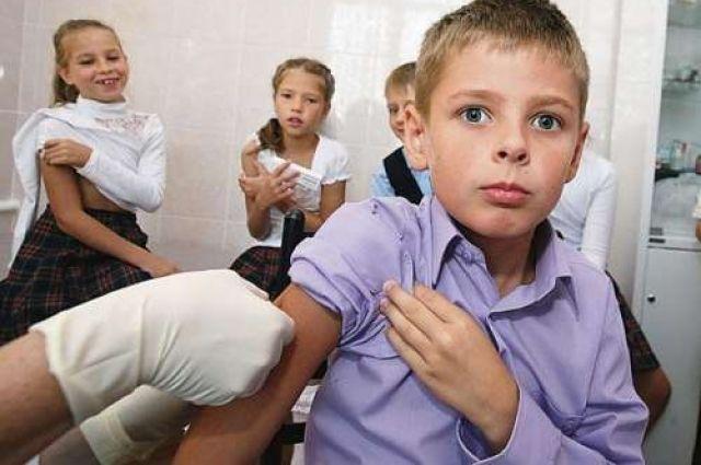 Неменее 44 тыс. детей получат вакцину отгриппа вЧелябинске