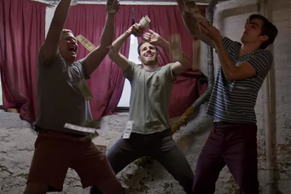 Режиссеры сняли фильм отом, как украли собранные нанего деньги
