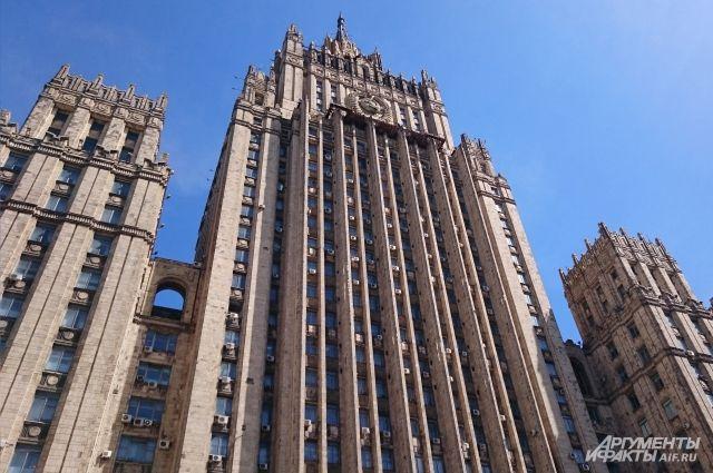 МИДРФ: Российская Федерация необсуждает критерии отмены санкций сСША