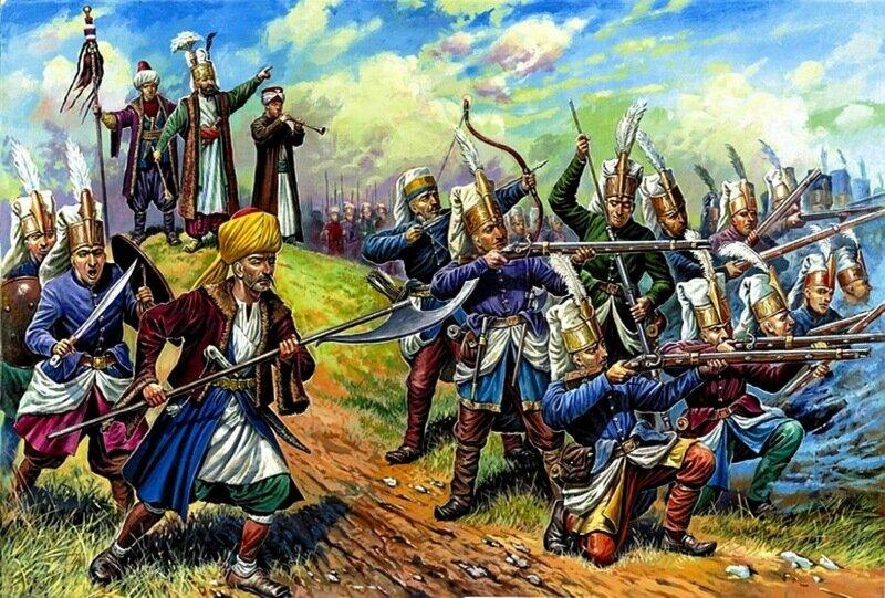 Янычары (турецкие воины)
