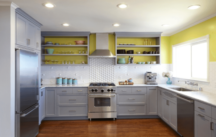 10 Beautiful White Kitchens  White Painted Cabinets
