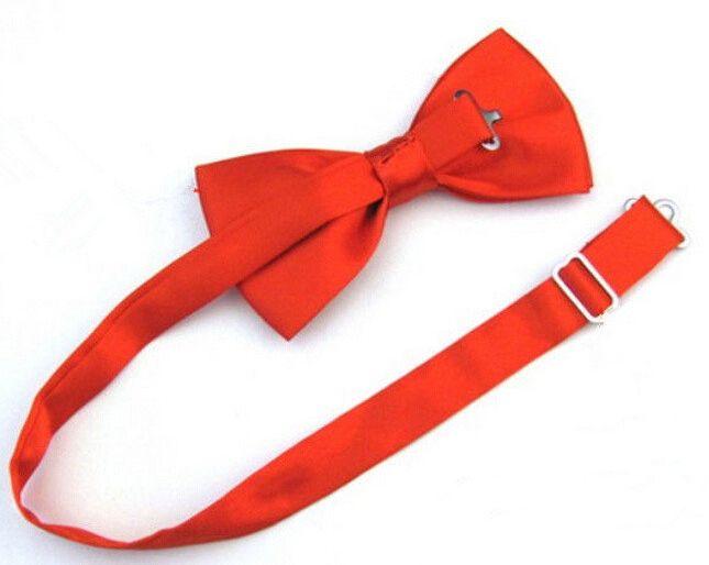 Атласный галстук бабочка