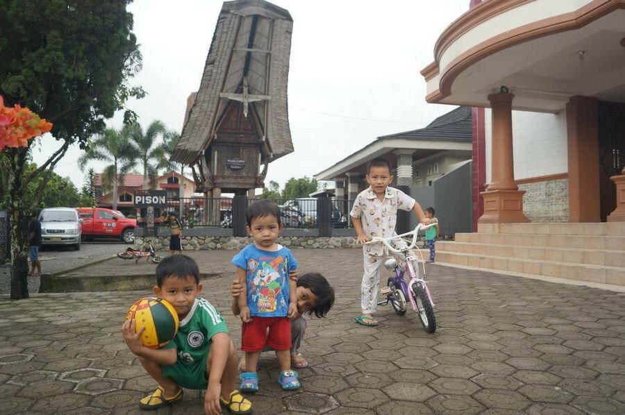 Дети тораджа