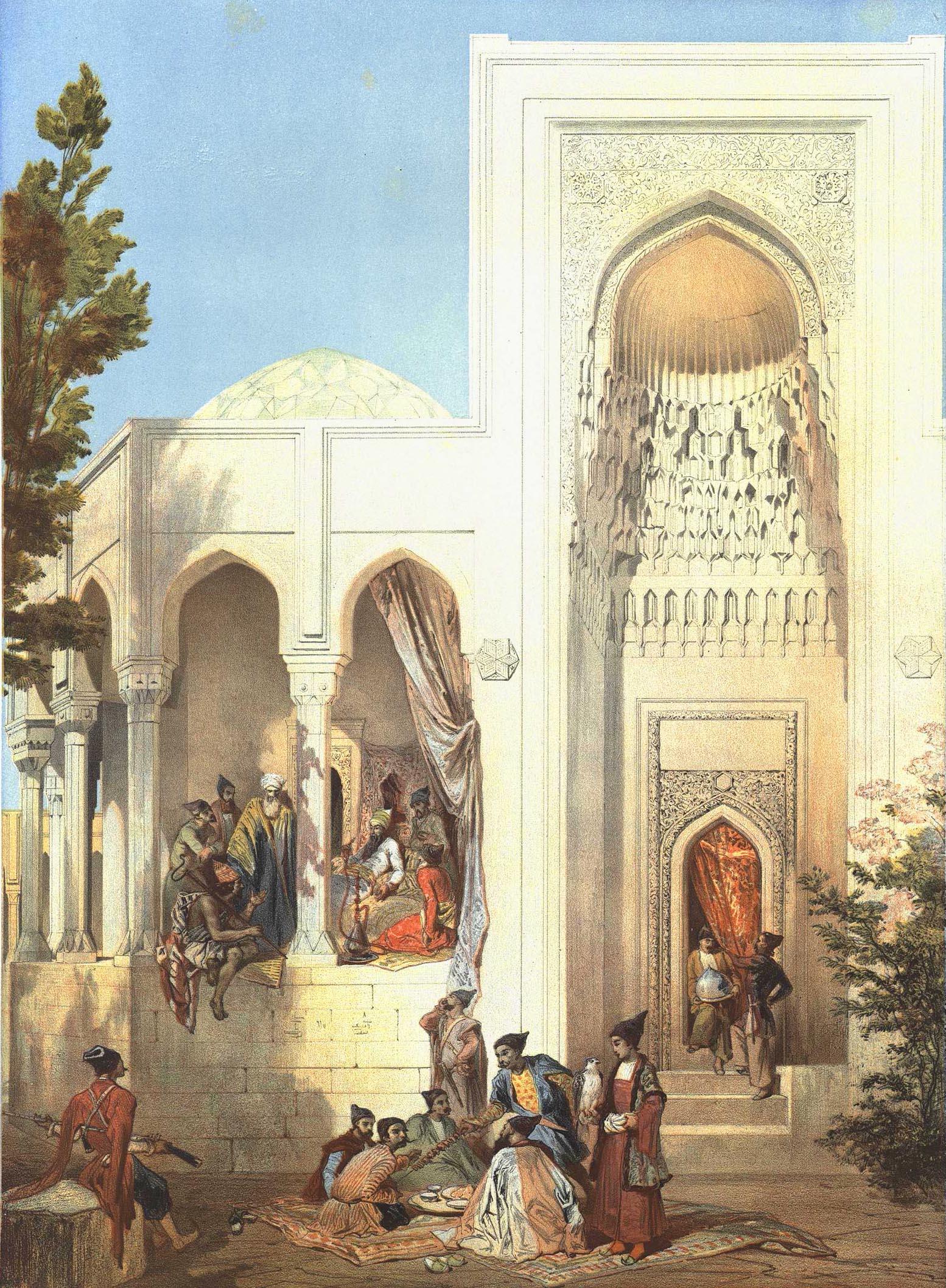 42. Abcheron. Palais du khan de Bakou / Абшерон. Ханский дворец в Баку